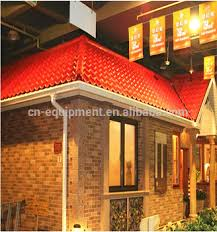 Transparent Patio Roof Heat Resistant Public Building Roof Top Used Pc Sheets For Patio
