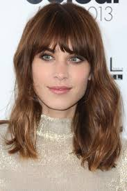 blunt fringe hairstyles 25 best fringe hairstyles to refresh your look