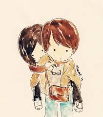 cute couple cartoon sketch images wallpaper sportstle