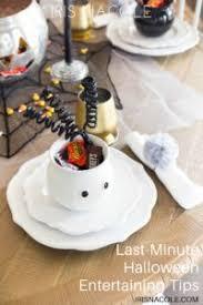 Halloween Entertaining - budget friendly halloween decorations iris nacole