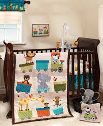 train baby nursery theme ideas baby circus animals train theme baby bedding for the crib with matching decor