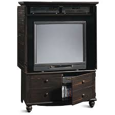 tv armoire with pocket doors furniture entertainment furniture
