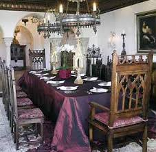 Gothic Dining Room Furniture Gothic Interior Decorating Archives Unique Intuitions