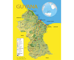 Georgetown Map Maps Of Guyana Detailed Map Of Guyana In English Tourist Map
