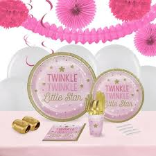 the party supplies twinkle pink birthday supplies the birthday depot