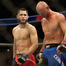 jorge masvidal talked to donald cerrone u0027s grandma after ko win on
