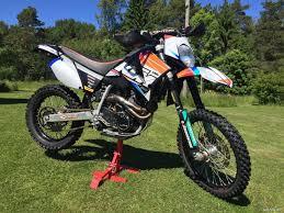 ktm 640 lc4 supermoto six days 650 cm 2002 hanko motorcycle