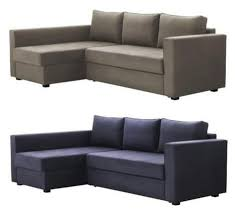 ikea furniture sofa bed manstad sectional sofa bed storage from ikea apartment therapy