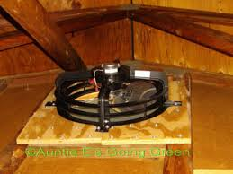 gable attic fan installation installing an attic fan money saving pinterest attic fans