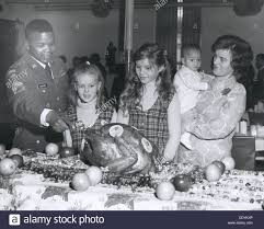 thanksgiving day celebrations at the consolidated mess fort stock