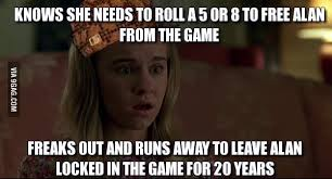 Jumanji Meme - so i re watched jumanji and couldn t help but think that sarah is a
