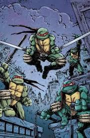 teenage mutant ninja turtles comic art kevin eastman