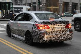 nissan sentra 2017 nismo nissan sentra nismo spied testing in downtown la autoguide com news