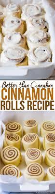 recette cuisine chignon better than cinnabon cinnamon rolls recette pâtisserie