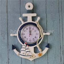 aliexpress buy anchor clock sea theme nautical ship