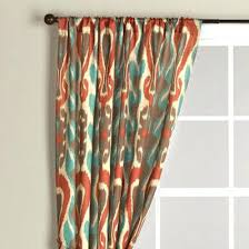 Brown Turquoise Curtains Orange And Turquoise Curtains Turquoise And Brown Kitchen Curtains