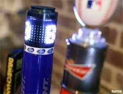 bud light beer tap handle sprint a b create interactive beer tap handles that flash when home