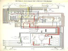 1965 vw beetle wiring diagram volkswagen schematics and wiring