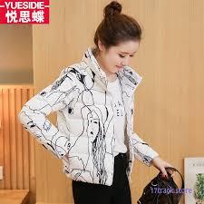 jacket women winter clothes trend slim coat new short cheap online