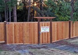 hewett lake security privacy fence with gate ajb landscaping u0026 fence