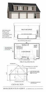 Garage Loft Plans 3 Car Garage Loft Plan 006g 0087 With Shed Dormers A Steep