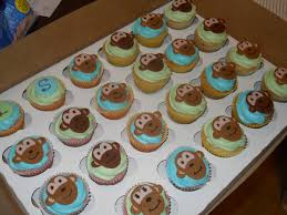 baby shower monkey theme cupcakes yo yo cakes pinterest baby