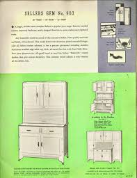 Sellers Kitchen Cabinets Seller U0027s Kitchen Furniture For 1939 Art Deco And Art Moderne