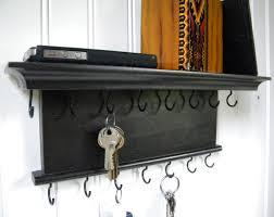 key holder wall key holder wall shelf wood handmade barretthillwoodcraft dma