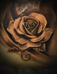 realistic black camera in rose tattoos in 2017 real photo