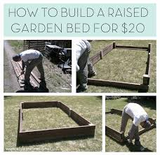 How To Build A Raised Garden Bed Cheap Best 25 Raised Planter Ideas On Pinterest Pallet Flower Box