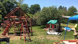 Lowes Swing Outdoors Amazing Gorilla Playset For Cool Kids Playground Ideas
