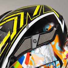 lightest motocross helmet kyt strike eagle new york mx helmet fluorescent yellow now 15