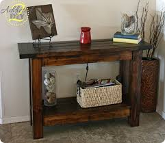 Rustic Hallway Table Console Table Design Rustic Wood Console Tables Amish Rustic