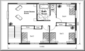 Tiny House Layout 35 Small House Floor Plans 1 One Bedroom Floor Plans One Level