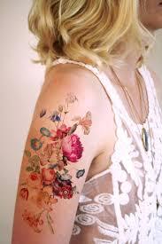 Large Flower Tattoos On - best 25 vintage floral tattoos ideas on vintage