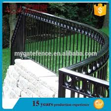 cheap prefab fence panels used garden fence wrought iron boundary