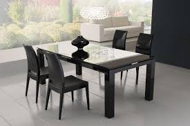 Black Oval Dining Room Table - dining room table contemporary black dining table decorations