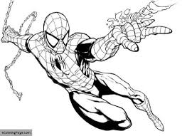 printable coloring pages spiderman spiderman coloring pages ecoloringpage com printable coloring pages