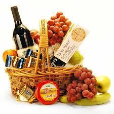 Wine Gift Basket Ideas Plovdiv Fresh Fruit U0026 Gourmet Gift Basket цветя и подаръци за
