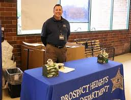 prospect heights department holds food drive