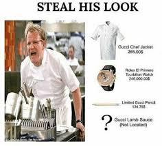 Meme Jacket - dopl3r com memes steal his look gucci chef jacket 265 00s