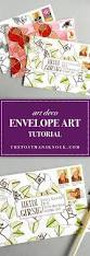 Which Side Of The Envelope Does The Stamp Go On Art Deco Envelope Art Tutorial The Postman U0027s Knock