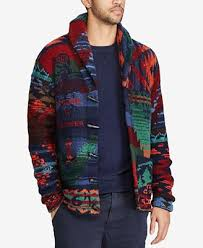macy s ralph sweaters polo ralph s iconic patchwork wool cardigan sweaters