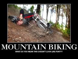 Bike Crash Meme - brutal mountain biking crashes