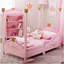 Toddler Bed With Canopy Princess Toddler Bed Canopy Pink Beautiful Fairytale Princess