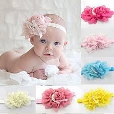s headbands feitong tm 8pc baby s headbands girl s rhinestone chiffon