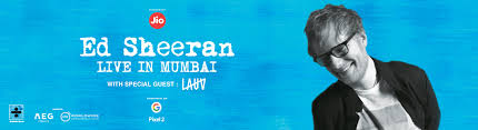 ed sheeran tour 2017 ed sheeran live concert in mumbai 2017 online tickets at bookmyshow