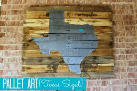 Texas Flag Decor Crafty Texas Girls Craft It Pallet Art Texas Sized