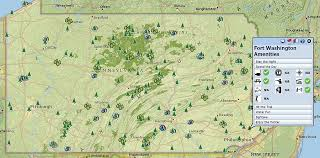 pennsylvania state map gis plays central in opening pennsylvania s environmental
