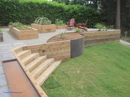 backyard retaining wall ideas new wood retaining wall for garden